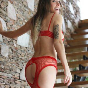 panty portaligas de red