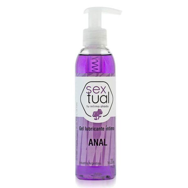 lubricante anal sextual rosas 200mL