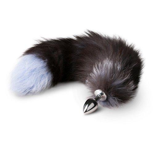 plug anal cola de zorra 45 cm