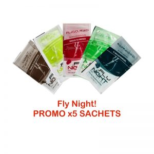 pack 5 sachets fly night